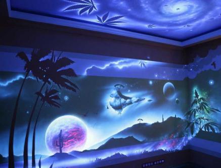 Флуоресцентные краски для стен где купить элур 2 мастика герметизирующая инструкция